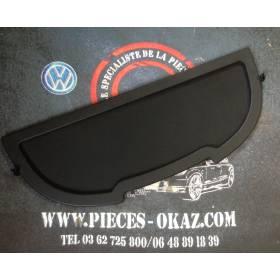 Plage arrière / Couvercle pour couvre coffre abimée Audi TT 8N ref 8N8867769C 18S