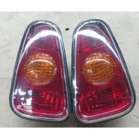 2 feux arrières pour Mini Cooper / Mini One R50 / R52 / R53 W10-B16A