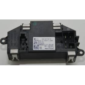 Résistance de pulseur d'air / Ventilation ref 3C0907521D / 3C0907521F / Ref Denso CZ 246810-5383 / Ref Valeo 997211A