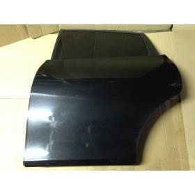 Porte arrière gauche conducteur modèle 5 portes pour Seat Leon 2 coloris noir LC9Z ref 1P0833055