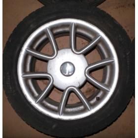 4 jantes alu Ronal avec pneus neige 16 pouces pour VW Golf 4