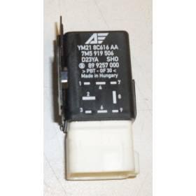 Rele / Unidad de control para ventilador N° 419 ref 7M5919506