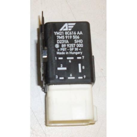 Relais calculateur pour ventilateur du radiateur N° 419 ref 7M5919506