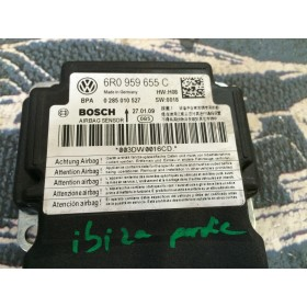 Airbag control unit ecu VW Polo / Seat Ibiza ref 6R0959655 6R0959655C 6R0959655K B11 Bosch 0285010793 0285010527