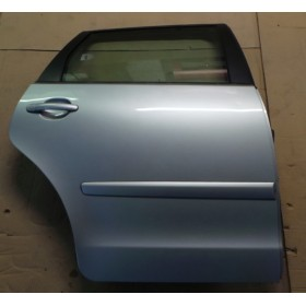 Porte arrière passager coloris gris clair LA7W pour VW Polo 9N ref 6Q6833056H