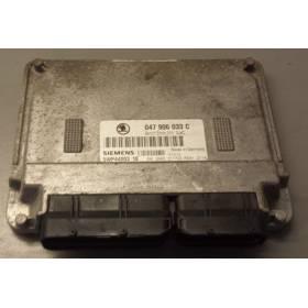 Calculateur moteur pour Skoda Fabia 1L4 essence moteur AQW ref 047906033C / 5WP4420310
