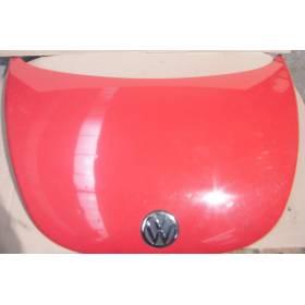 Capot du moteur avant coloris rouge LG3L pour VW New Beetle ref 1C0823031L