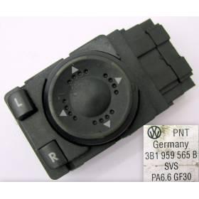 Interrupteur de commande de rétroviseur pour VW Golf 4 / Passat 3B ref 3B1959565B