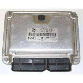 Engine control / unit ecu motor VW Polo 1L9 SDI ASY ref 038906012EL / 0 281 010 660 / 0281010660