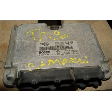 Calculateur moteur pour VW Golf 4 / Bora / New Beetle L9 TDI ref 038906018AN ref bosch 0281001733 / 0 281 001 733