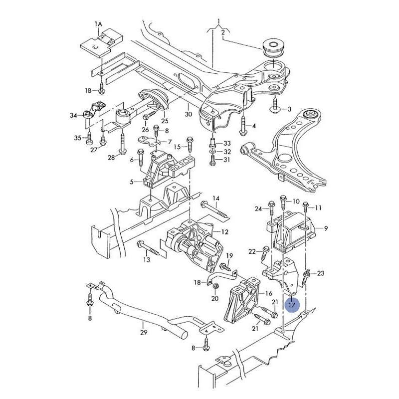 support moteur  console  appui ref 1j0199117n  venta de