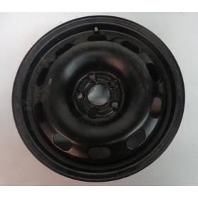 Jante tole acier 15 pouces sans pneu vendu à l'unité ref 1J0601027H