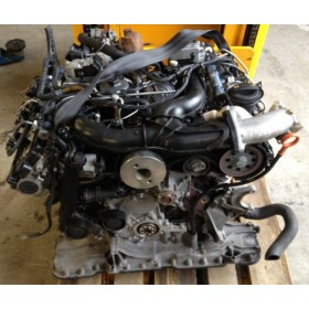 Engine, 3L V6 TDI type BMK, sold without injection, old engine trade-in mandatory.
