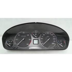 Compteur / combiné porte-instruments pour Peugeot 607 Diesel ref 9629598480