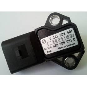 Detector / Sensor of pressure TDI ref 038906051C / 0281002401 / 0 281 002 401