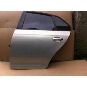 Porte arrière conducteur pour VW Golf 6 / 7 / Jetta gris clair LR7L ref 1K5833301P / 1K5833105E