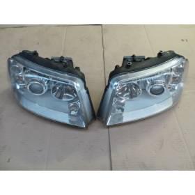 2 projecteurs optiques au xenon pour VW Sharan 2 / Seat Alhambra ref 7M3941015T / 7M3941016T / 7M3941017 / 7M3941018