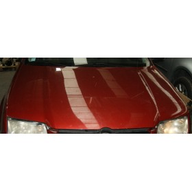 Capot coloris rouge canyon / Red canyon LC3K pour VW Bora ref 1J5823031B
