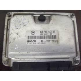 Calculateur moteur Skoda Fabia 1L9 SDI ASY ref 038906012AN réf Bosch 0281010107 / 0 281 010 107