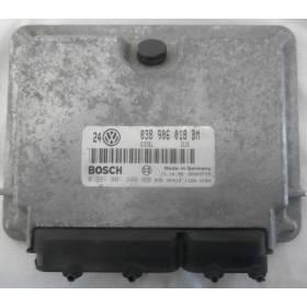 Engine control / unit ecu motor VW Golf 4 / Bora 1L9 TDI 110  AHF ref 038906018BM / ref Bosch 0281001845 / 0 281 001 845