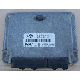 Calculateur moteur VW Golf 4 1L9 TDI 110 cv AHF ref 038906018J / 038906018GP / ref Bosch 0281001613 / 0 281 001 613