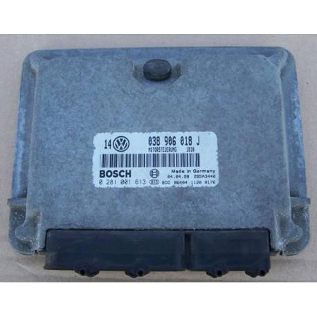 Calculateur moteur ref 038906018J / 038906018GP réf Bosch 0281001613 / 0 281 001 613