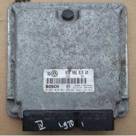 Calculateur moteur   VW Golf 4 / Bora 1L9 TDI 115 cv AJM ref 038906019AM / 038906019CJ ref Bosch 0281010302 / 0281010091