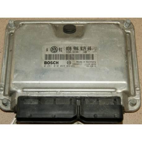 Calculateur moteur ref 038906019AQ réf Bosch 0281010048 / 0 281 010 048
