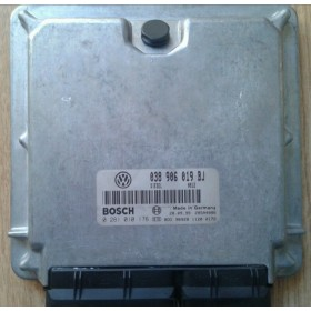 Engine control / unit ecu motor VW Passat 1L9 TDI 115  AJM ref 038906019BJ / 038906019CD / Ref Bosch 0281010176