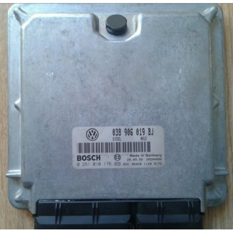 Calculateur moteur ref 038906019BJ / 038906019CD / Ref Bosch 0281010176 / 0 281 010 176