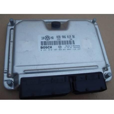 Calculateur moteur ref 038906019BK réf Bosch 0281010305 / 0 281 010 305