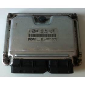 Calculateur moteur VW Golf 4 / Bora / New Beetle 1L9 TDI 100 cv ATD ref 038906019DF / ref Bosch 0281010497