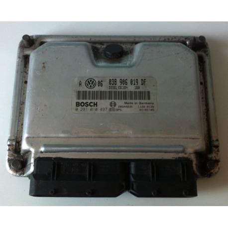 Calculateur moteur ref 038906019DF réf Bosch 0281010497