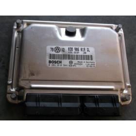 Engine control / unit ecu motor VW Passat / Skoda Superb 1L9 TDI 100  AVB ref 038906019GL / ref Bosch 0281010944