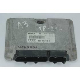Calculateur moteur Audi A3 8L 1L8 125 cv AGN ref 06A906018C / 06A906018BS / 06A997018BX Bosch 0261204126 / 0261204127