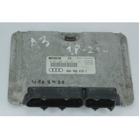 Engine control / unit ecu motor Audi A3 8L 1L8 125 AGN ref 06A906018C 06A906018BS 06A997018BX Bosch 0261204126 0261204127