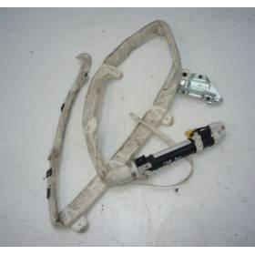 Airbag rideau / Module sac gonflable de tête côté gauche conducteur pour Audi A6 4B Break ref 4B9880741