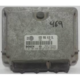 Calculateur moteur Audi A3 1L9 TDI / VW Golf 4 / Bora 1L9 TDI ref 038906018BL / 038906018GS / Ref Bosch 0281001845