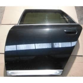Porte arrière gauche conducteur coloris noir LZ9W pour Audi A6 4Z Allroad 4Z7833051