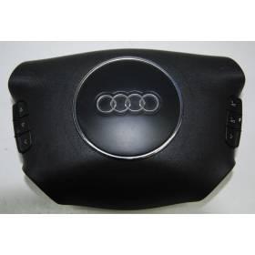 Airbag volant / Module de sac gonflable pour Audi A2 / A3 8P / A4 / A6 ref 8P0880201E / 8P0880201BM 6PS