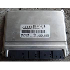 MOTOR UNIDAD DE CONTROL ECU Audi A4 2L5 V6 tdi 150 ref 8D0907401F ref Bosch 0281001945 / 0 281 001 945