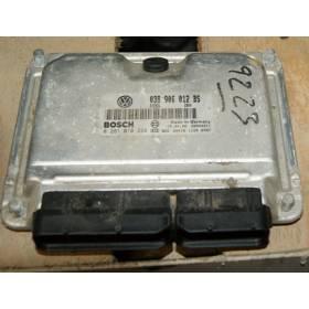 Engine control / unit ecu motor Seat Leon 1 / Toledo 1L9 TDI 90  AGR ref 038906012BS / Ref Bosch 0281010228