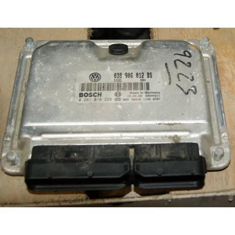 Calculator motor para Seat Leon 1 / Toledo 1L9 TDI 90 cv AGR ref 038906012BS / Ref Bosch 0281010228 / 0 281 010 228