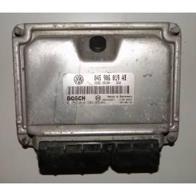Engine control / unit ecu motor VW Polo 6N 1L4 TDI 75  ref 045906019AB / ref Bosch 0281010503 / 0 281 010 503