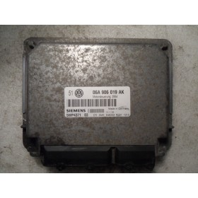 Calculateur moteur VW Bora / Golf 4 1L6 essence AEH / AKL ref 06A906019AK / Siemens 5wp4371