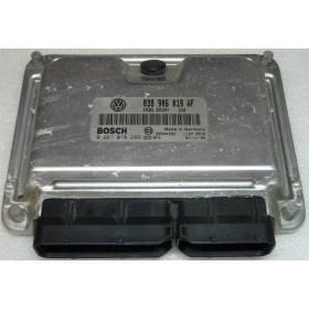 Calculateur moteur pour Skoda Fabia 1L9 TDI 100 cv ATD ref 038906019AF / Ref Bosch 0281010289 / 0 281 010 289