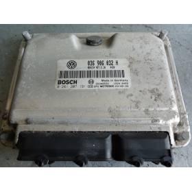 Calculateur moteur pour Seat Leon / Toledo 1L4 MPI ref 036906032H / Ref Bosch 0261207191