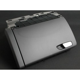 Gloves box black color without barrel for Audi A4 B8 ref 8K1857035C / 8K1857104 / 8K1857104B / 8K1857104C 6PS