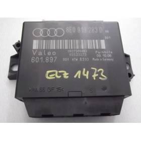 Calculateur d'aide au stationnement Audi A4 B7 ref 8E0919283B 8E0919283D +++