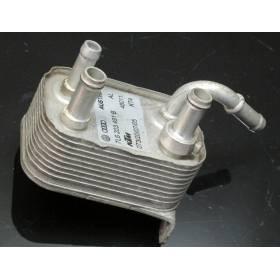 Refroidisseur de carburant / Radiateur de gasoil pour Audi Q7 / VW Touareg ref 7L6203491B / 7L6203491D
